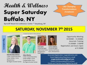 Isagenix Super Saturday